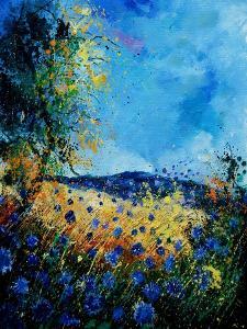 Blue Cornflowers 4505072 by Pol Ledent