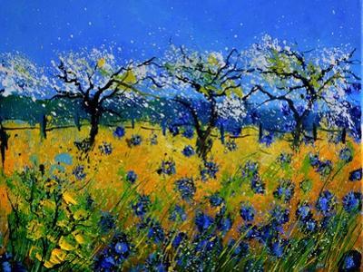 Blue Cornflowers 545130 by Pol Ledent