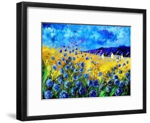 Blue cornflowers 68 by Pol Ledent