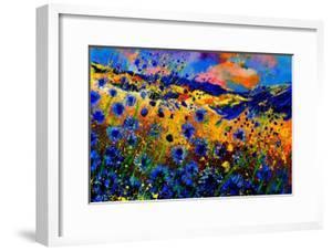 Blue Cornflowers 756 by Pol Ledent
