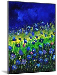 Blue Poppies 674160 by Pol Ledent
