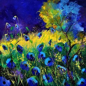 Blue Poppies 7741 by Pol Ledent