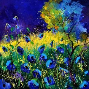 Blue Poppies 7741 by Pol Ledent