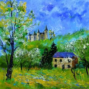 Castle of Veves by Pol Ledent