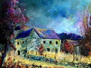 Celles village ardennes belgium by Pol Ledent