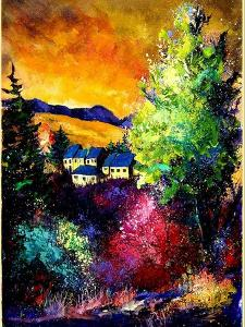 Charnoy village France by Pol Ledent
