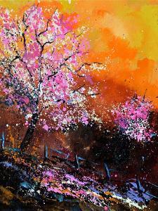 Cherry Trees in Blossom by Pol Ledent