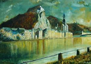 City of Dinant Belgium by Pol Ledent