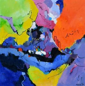 Colourful maelstrom by Pol Ledent