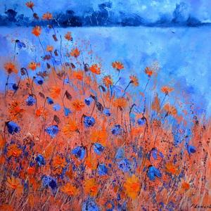 Cornflowers 77 by Pol Ledent