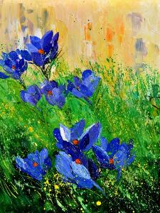 Crocuses by Pol Ledent