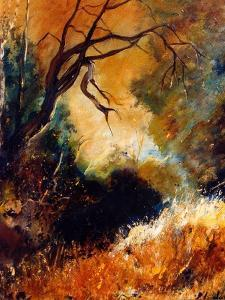 Dead Tree End of Summer by Pol Ledent
