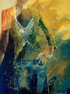 Dinnerjacket matches with jeans by Pol Ledent