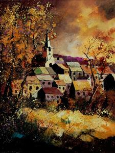 Houyet in Autumn 45 by Pol Ledent