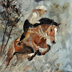 Jumping Horse by Pol Ledent