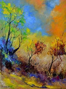 Magic Autumn in the Wood by Pol Ledent