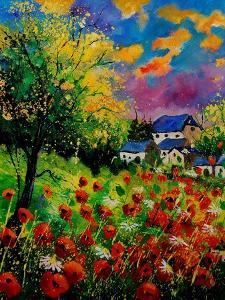 Poppies And Daisies 560110 by Pol Ledent
