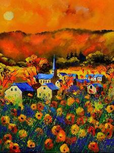 Poppies In Houroy by Pol Ledent