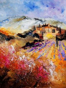 Provence, Cherry Trees, Lavender Fields by Pol Ledent