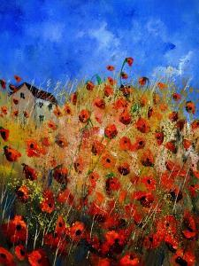 Red Poppies 562111 by Pol Ledent