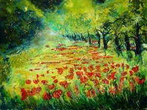 Red poppies 68 by Pol Ledent