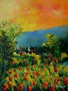 Red Poppies in Houyet by Pol Ledent