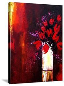 Red tulips by Pol Ledent