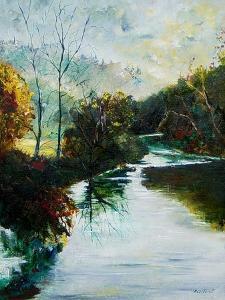 River Lesse by Pol Ledent