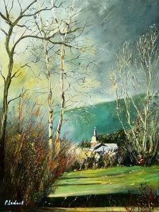 Rochehaut village ardennes belgium by Pol Ledent