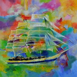 Sailboat by Pol Ledent