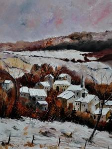 Snow In Ouroy 67 by Pol Ledent