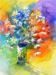 Still Life Watercolor by Pol Ledent