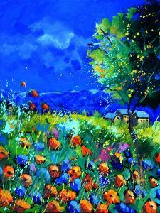 Summer Poppies in Gendron by Pol Ledent
