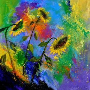 Sunflowers 7741 by Pol Ledent