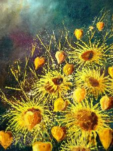 Sunflowers by Pol Ledent