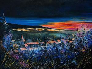 sunset in belgium by Pol Ledent