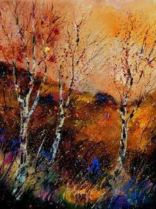 Three Poplars by Pol Ledent