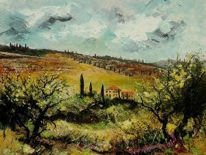 Tuscan Landscape by Pol Ledent