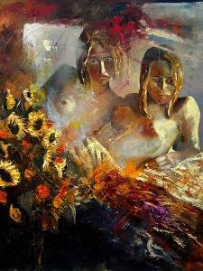 two friends  - nudes by Pol Ledent