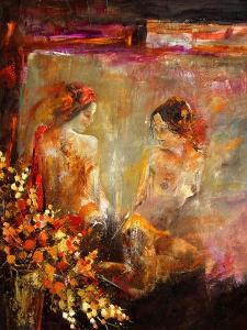 Two nudes by Pol Ledent