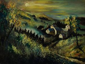 Village Ardennes Belgium by Pol Ledent