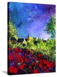 Villers Red Poppies by Pol Ledent