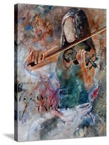 violin player by Pol Ledent