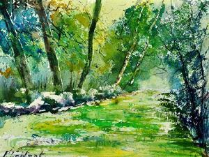 Watercolor 019031 by Pol Ledent