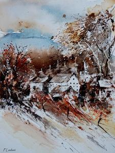 Watercolor 021008 by Pol Ledent