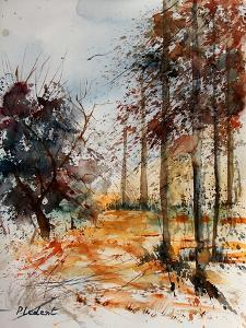 Watercolor 040902 by Pol Ledent