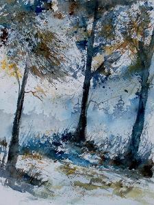 Watercolor 080108 by Pol Ledent