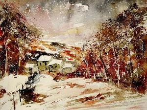 Watercolor 080306 by Pol Ledent