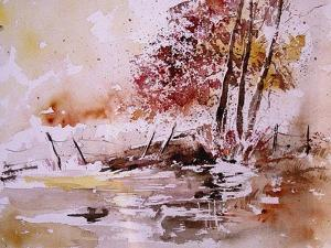 Watercolor 100304 by Pol Ledent
