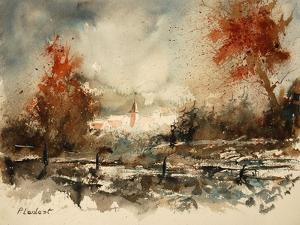 Watercolor 111207 by Pol Ledent